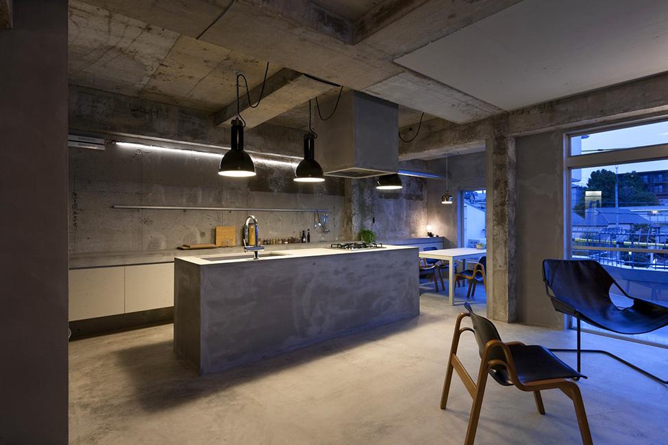 Дизайн квартиры бетон