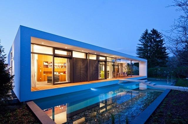 Частная резиденция от Dettling Architekten