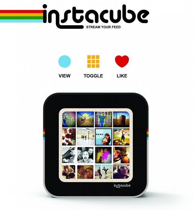 Instacube. Фоторамка для Instagram