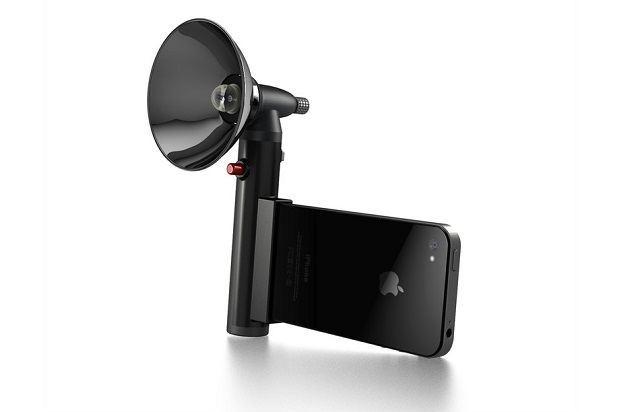 Paparazzo Light: внешняя вспышка для iPhone