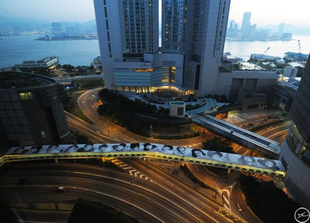 Inside Out Project. Французский стрит-арт в Гонконге