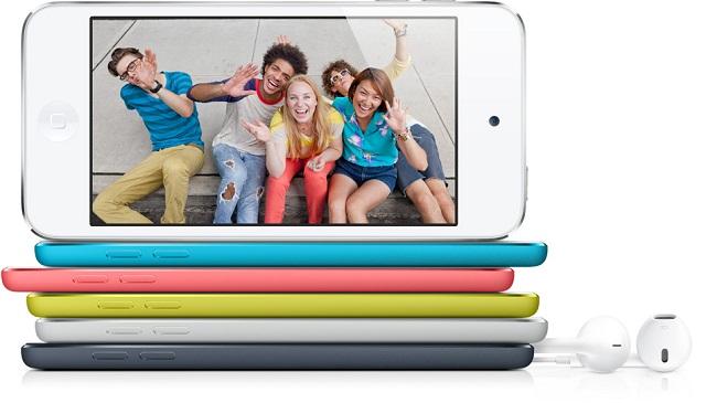 iPod touch 5-го поколения. Развлечения в цвете