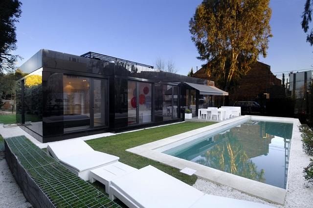 Модульный дом от студии A-cero Architects