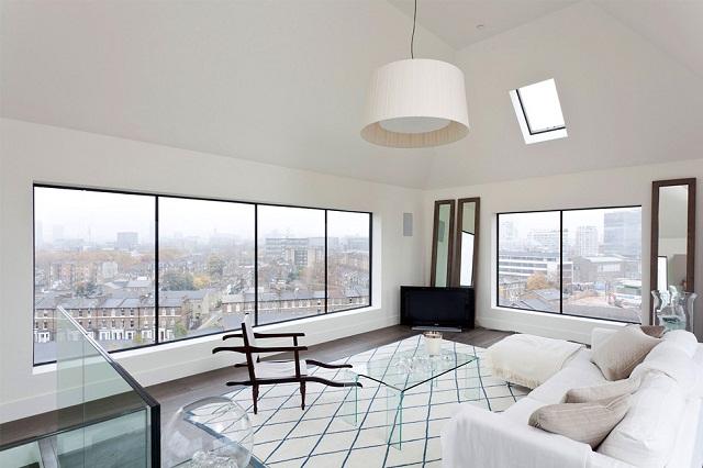 Дом в водонапорной башне в Лондоне