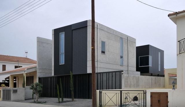 Частный дом 0605 от студии Simpraxis