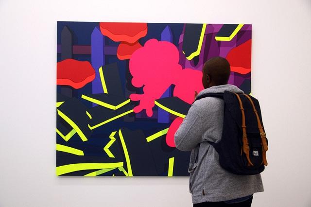 Большая выставка художника Kaws