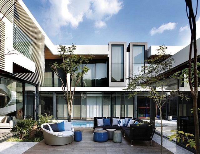 Резиденция в ЮАР по проекту бюро SAOTA