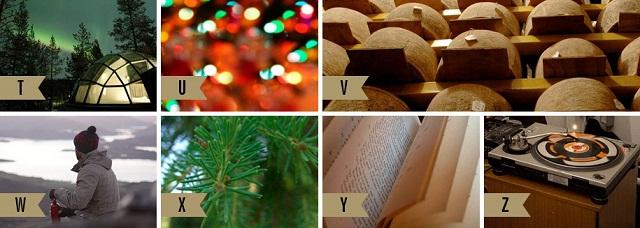 Рождественская азбука от Ben Sherman