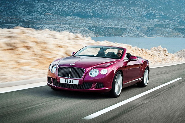 Новый Bentley Continental GT Speed Convertible 2013