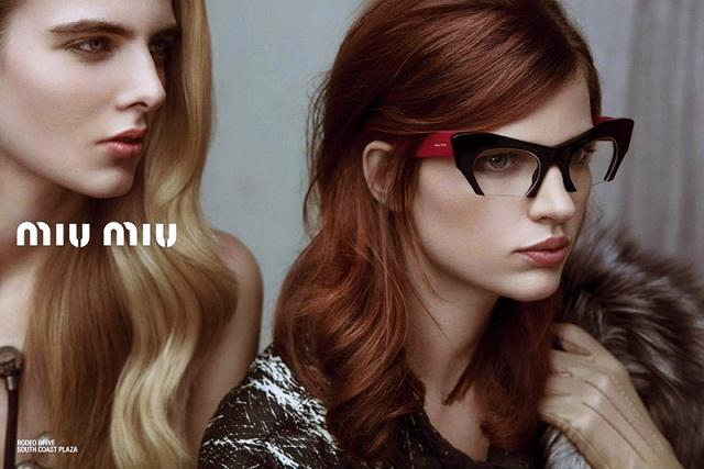 Весенне-летняя кампания Miu Miu Eyewear