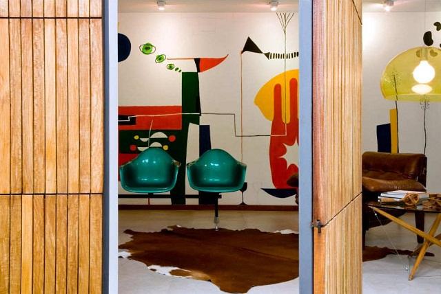Семейный особняк Casa 8 в Бразилии