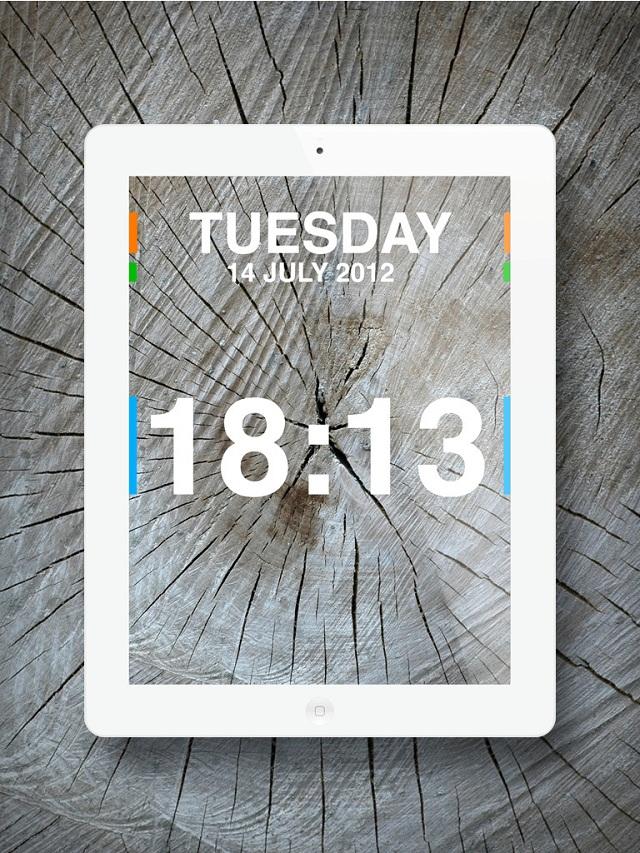 Часы Хамелион для iPhone & iPad