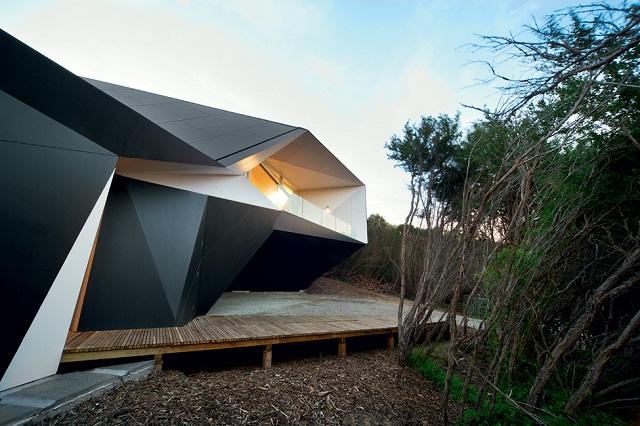 Klein Bottle House – оригами от McBride Charles Ryan