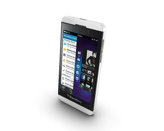 Новые смартфоны BlackBerry Z10 и Q10