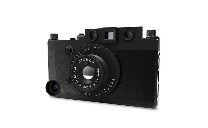 Gizmon iCA: кейс-имитация фотокамеры для iPhone 5