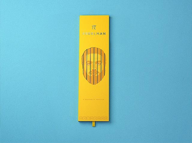 The Bold Studio выпустили карандаши с изображением Григория Перельмана