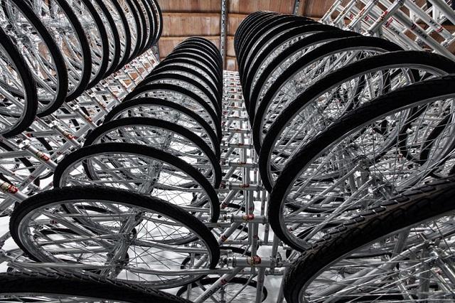 Велосипедная «паутина» Ai Weiwei