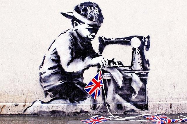 «Детский труд» Бэнкси продадут с аукциона