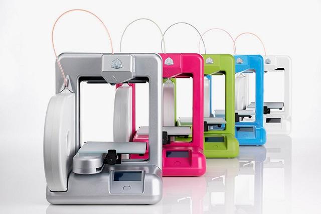 Новый домашний 3D-принтер The Cube