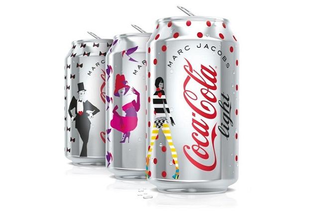 Марк Джейкобс представил дизайн банок Diet Coke