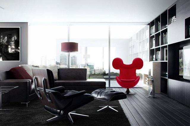 Микки-кресло от Milos Mickey Vujicic