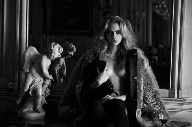 Кара Делевинь для Interview Magazine Апрель 2013