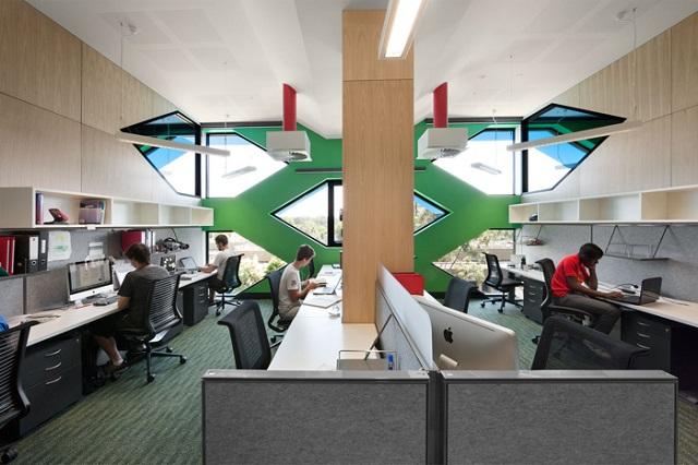 Молекулярный корпус La Trobe от Lyons Architects