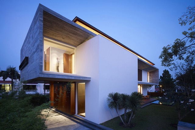 M House в Сингапуре от ONG&ONG Pte Ltd