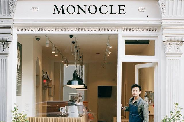 Открытие Monocle London Café