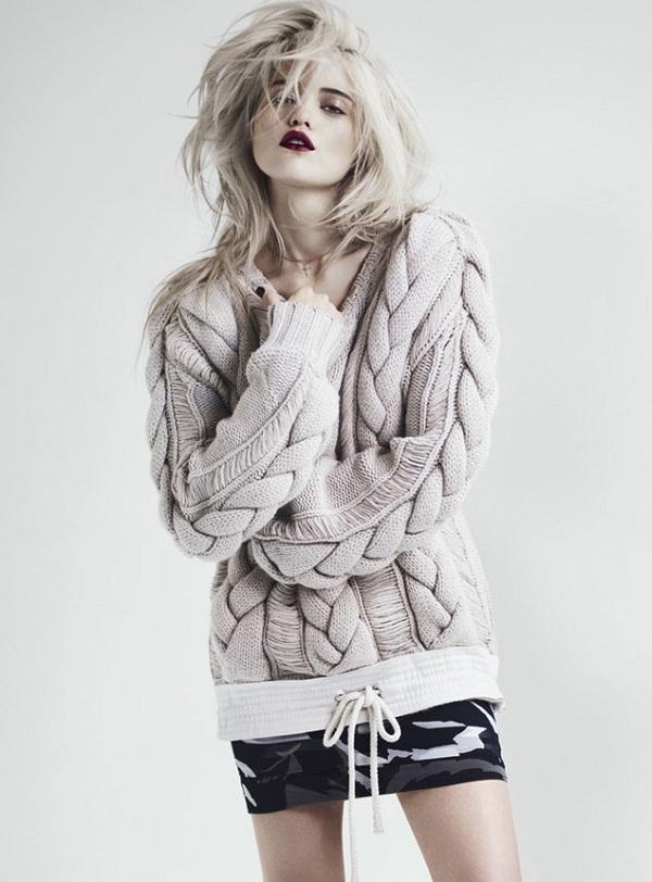 Sky Ferreira для испанского журнала S Moda