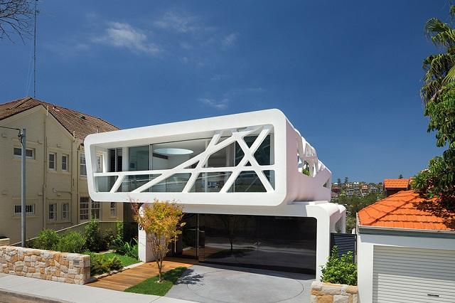 Смелая геометрия особняка в Сиднее