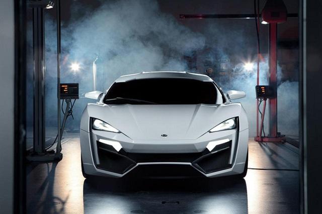 W Motors: Арабская роскошь суперкара Lykan Hypersport