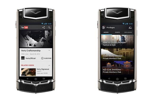 Люксовый Android-смартфон Vertu Ti произведен Nokia