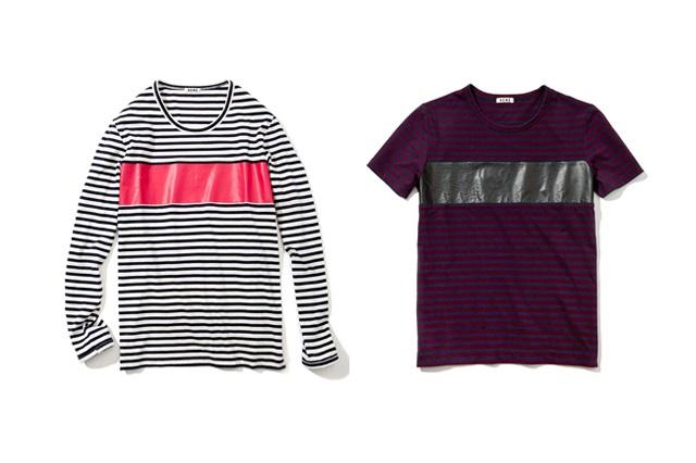 Коллекция Acne Striped Tees Весна/Лето 2013