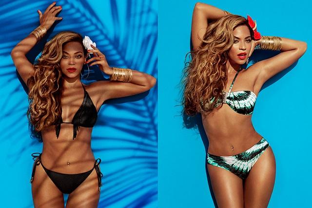 Полная кампания H&M с участием Бейонсе