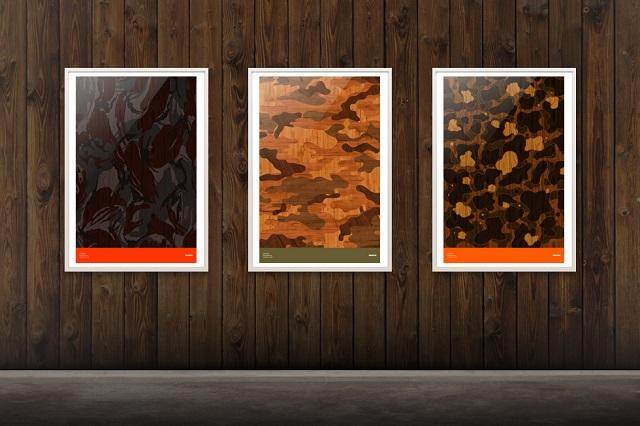 Современный камуфляж в новой коллекции Woodgrain от MSTRPLN