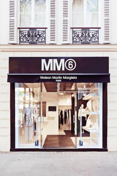 Открытие магазина Maison Martin Margiela в Париже