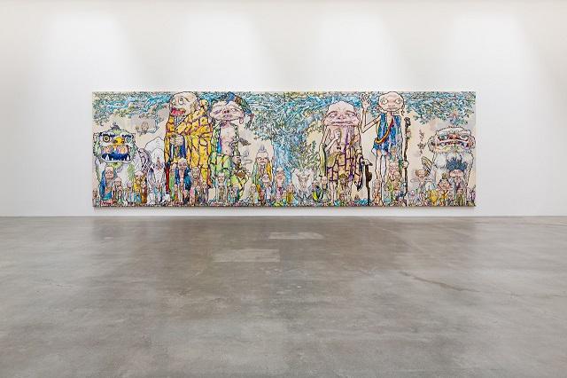 """Выставка Такаши Мураками """"Arhat"""""""