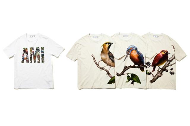 Коллекция футболок AMI Весна/Лето 2013