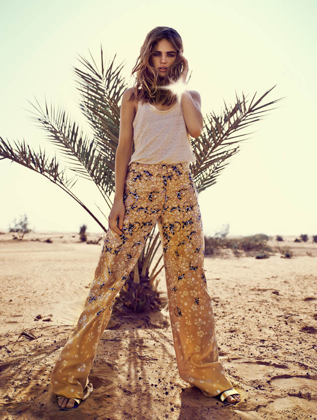 Модель Милоа Слуис снялась для июньского номера Eurowoman