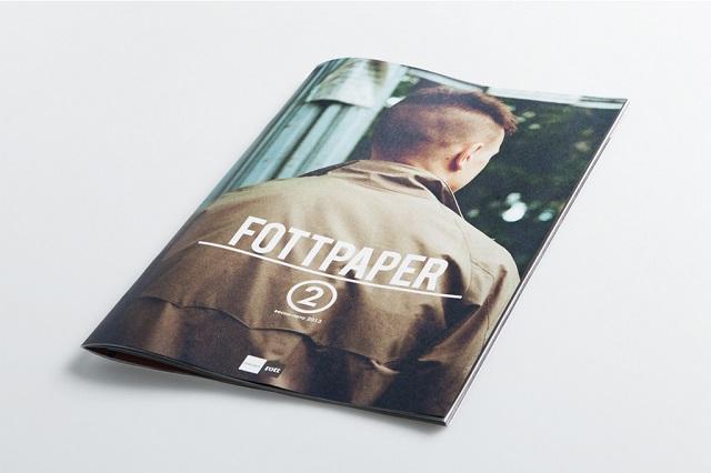 Новый номер журнала Fottpaper Весна/Лето 2013