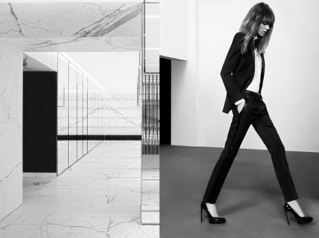 Рекламная кампания Saint Laurent pre-fall 2013