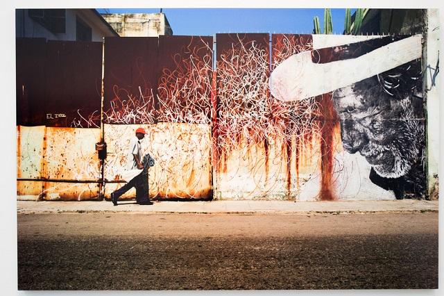 Стрит-арт в Bryce Wolkowitz Gallery от JR и Хосе Парла