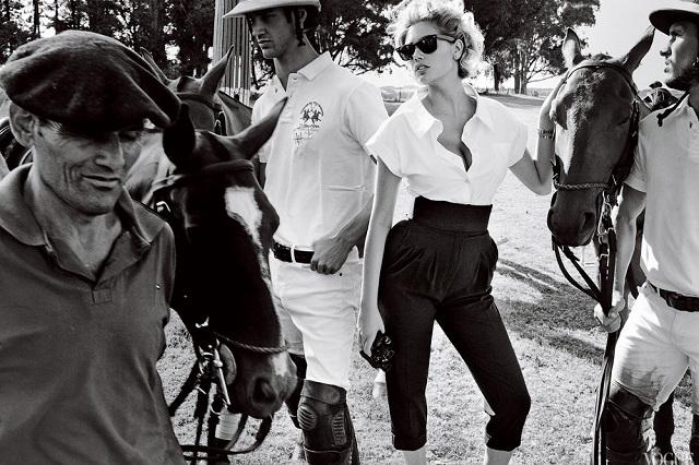 Кейт Аптон на обложке Vogue US