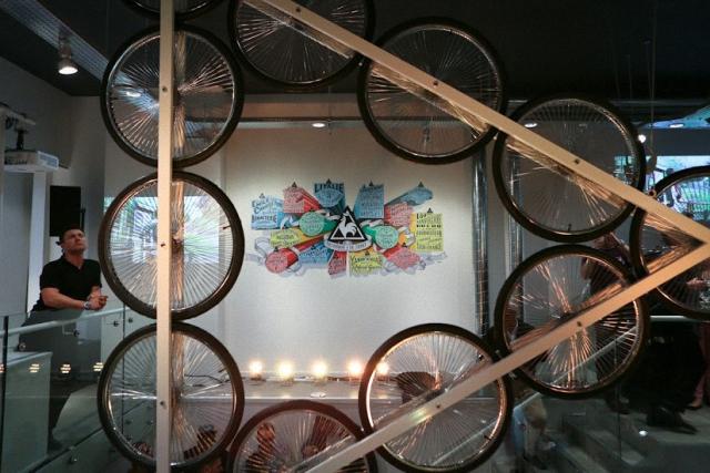Открытие первого магазина марки Le coq sportif в Лондоне