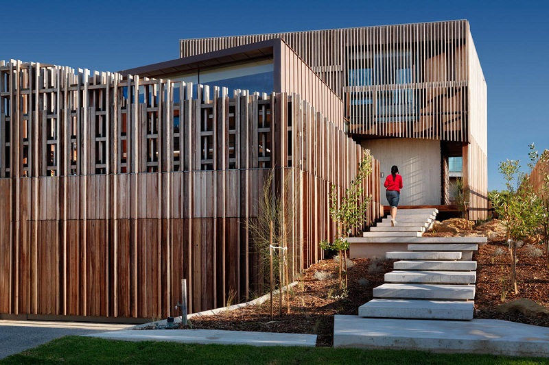 Дизайн частного дома Queenscliff Material от студии John Wardle