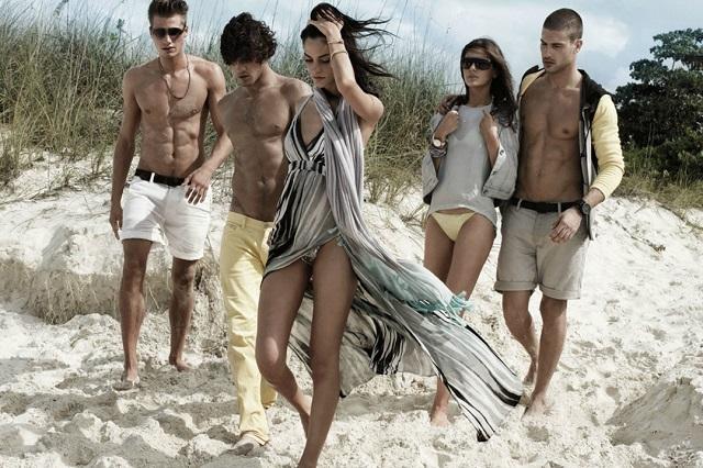 Рекламная кампания Armani Exchange Весна/Лето 2013