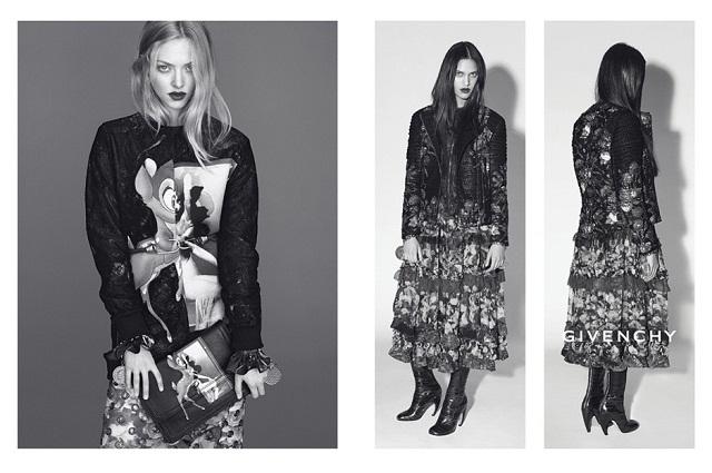 Рекламная кампания Givenchy от Карин Ройтфельд