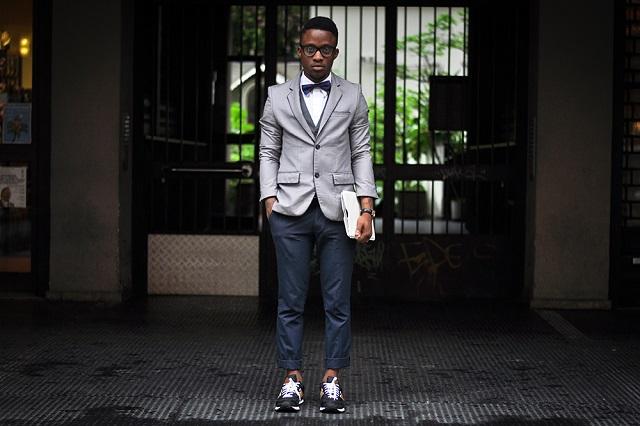 Стритстайл: Funfere Koroye в Givenchy, New Balance & Topman