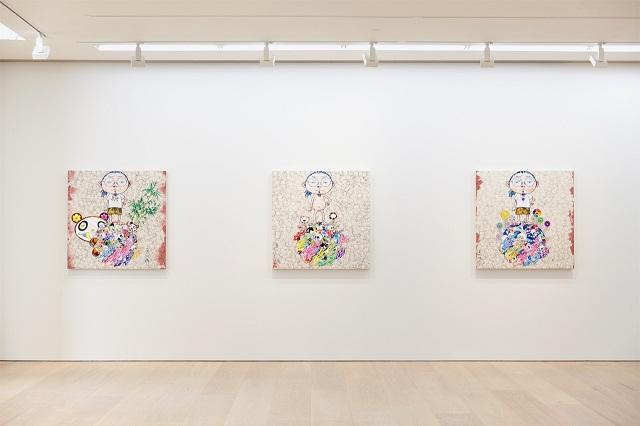 Персональная выставка Такаши Мураками в Galerie Perrotin